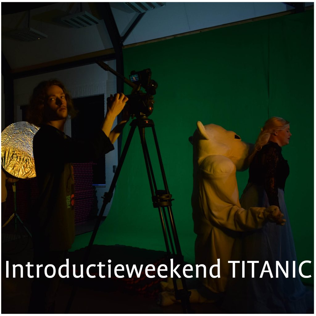 Introductieweekend TITANIC - Jongerentheater KRANG