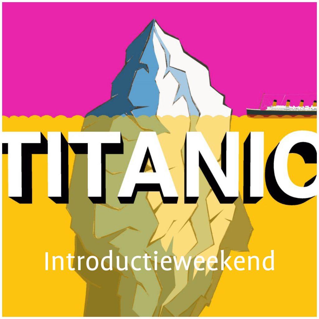 Button introductieweekend Titanic - jongerentheatergroep KRANG