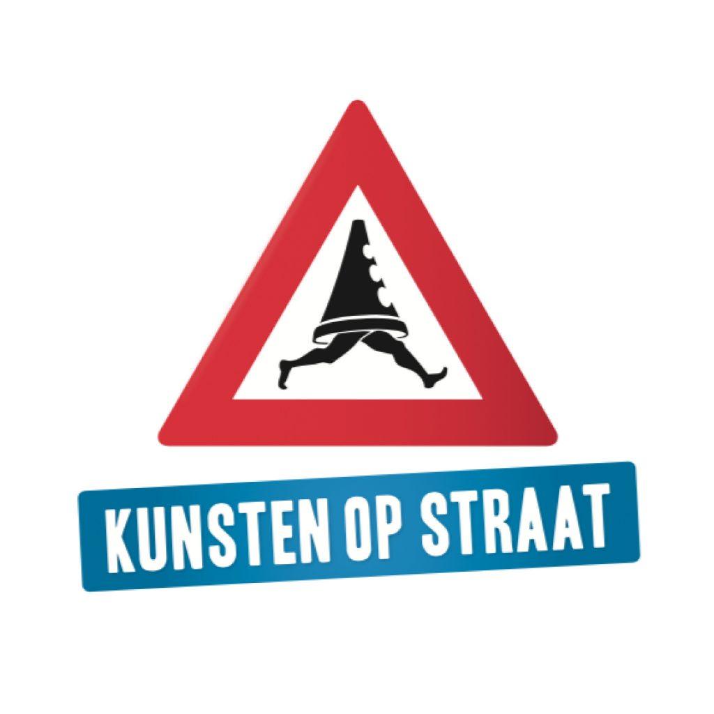 Logo Kunsten op Straat