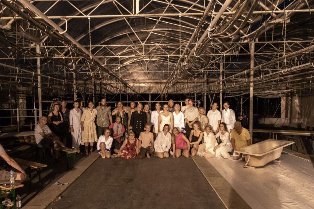 Groepsfoto - Jongerentheater KRANG TITANIC